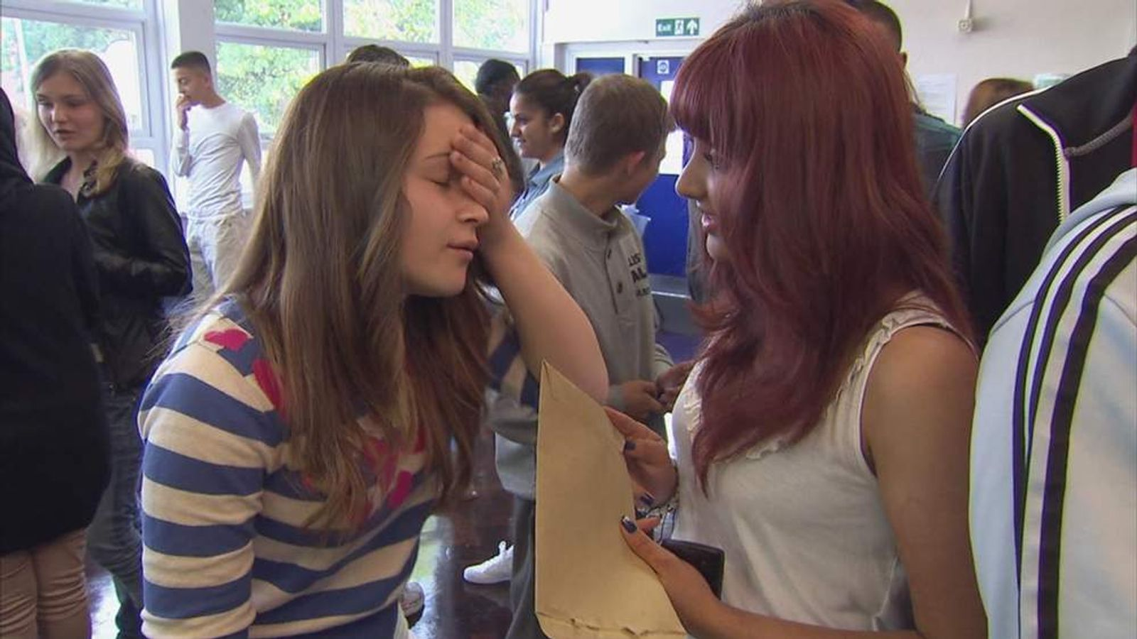 GCSE results day August 23