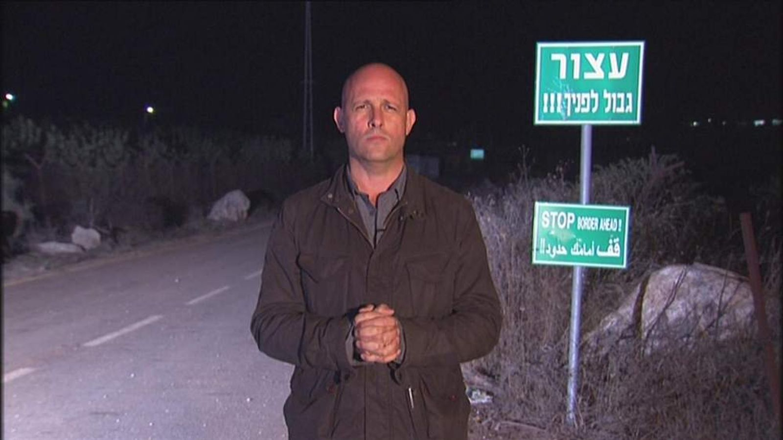 Sky's Sam Kiley reports from Metula, Israel