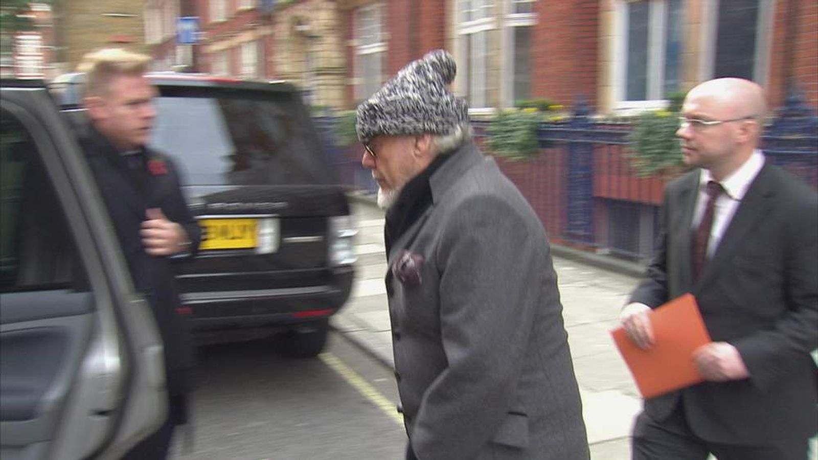 Gary Glitter arrested in central London