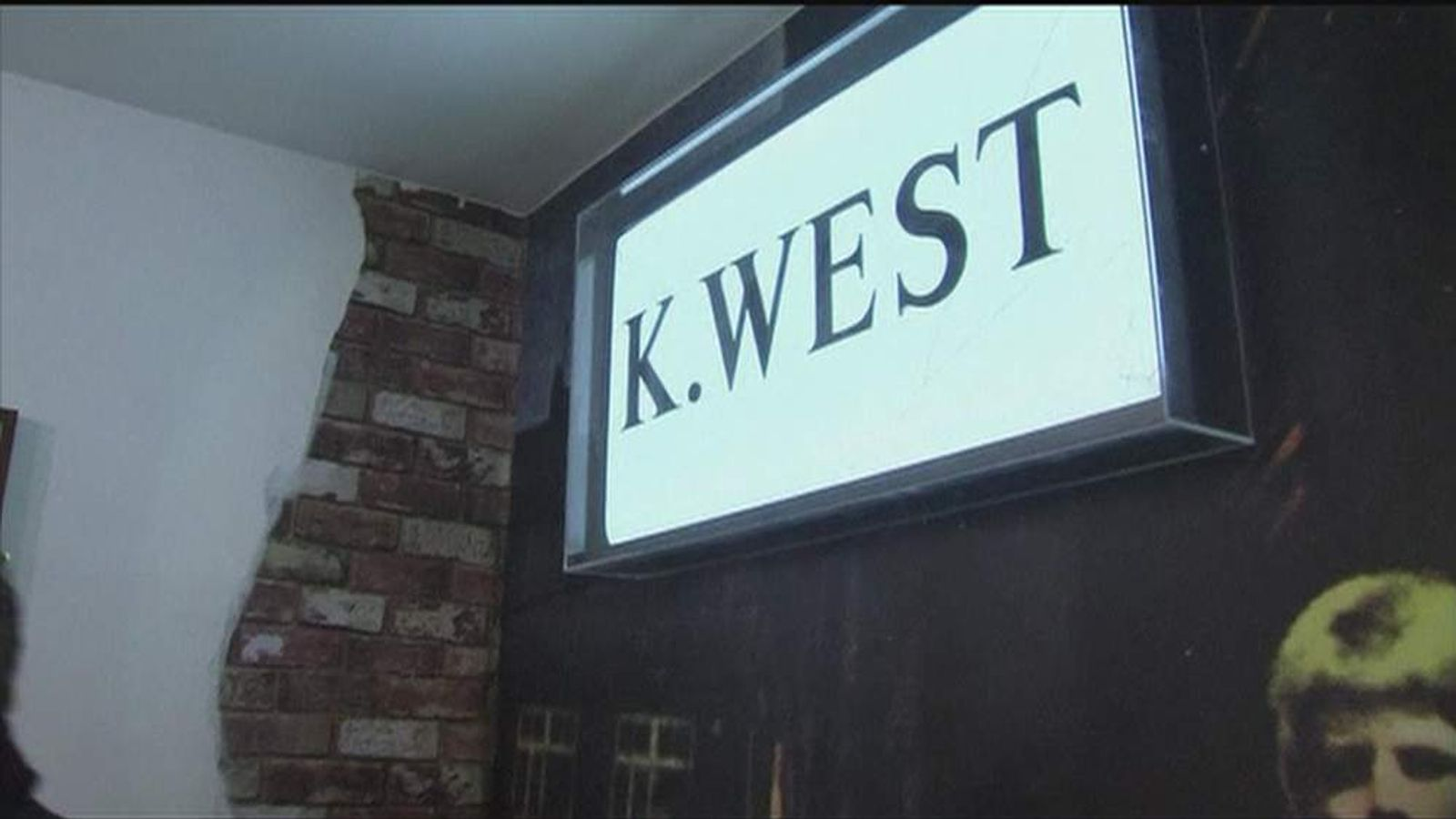K.West sign