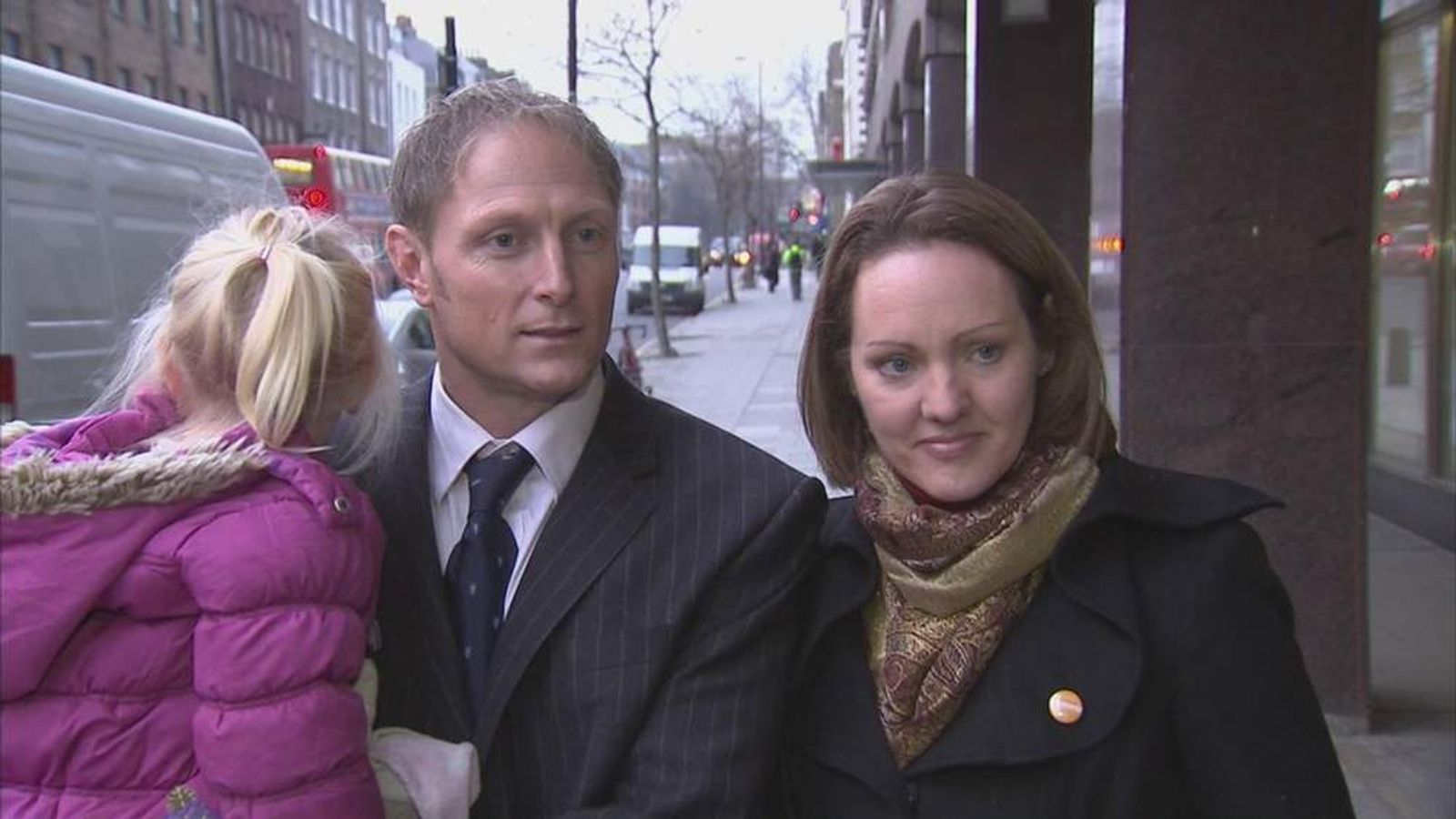 Freed SAS sniper Danny Nightingale and his wife Sally