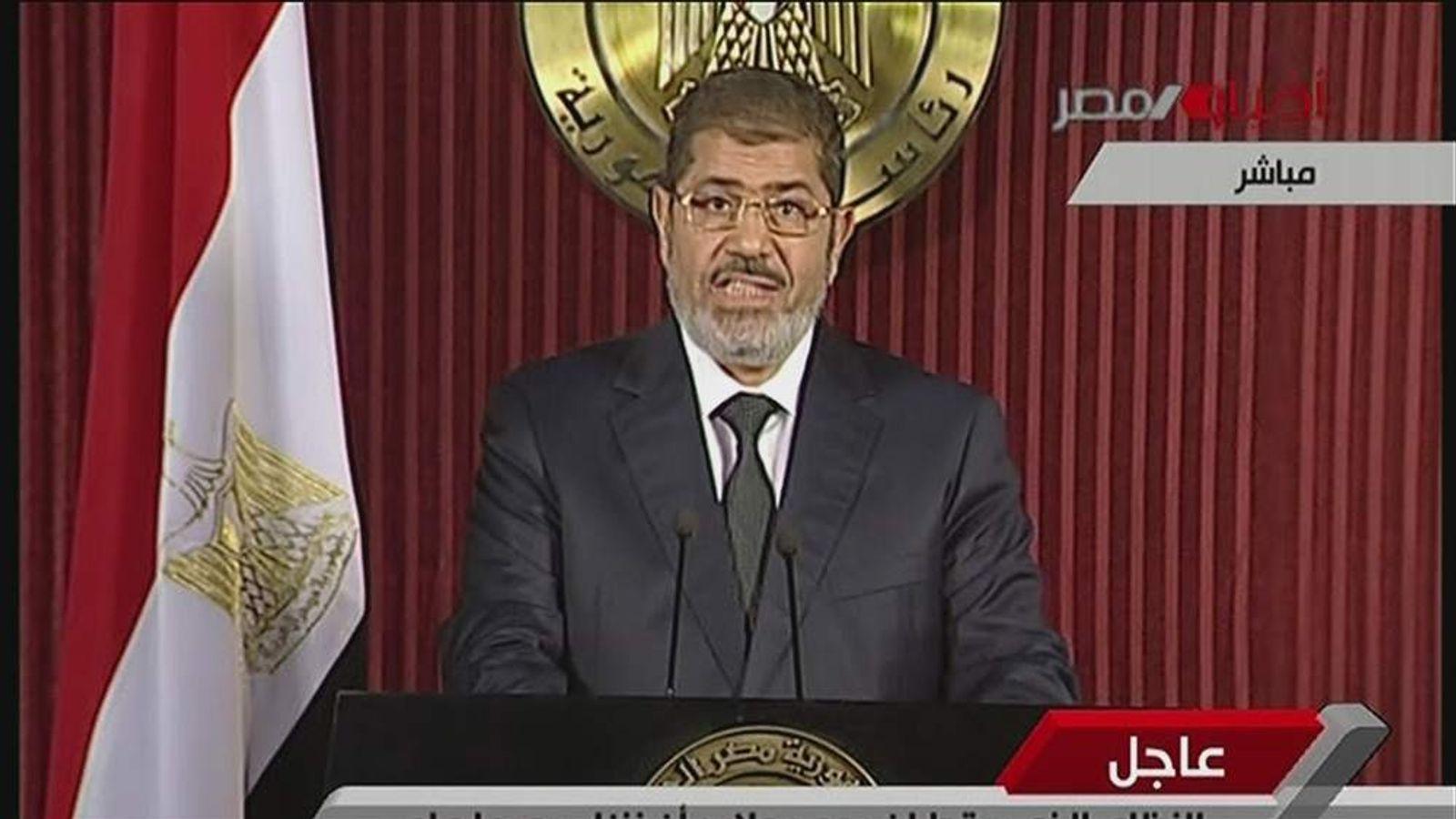 Egypt President Mohamed Morsi