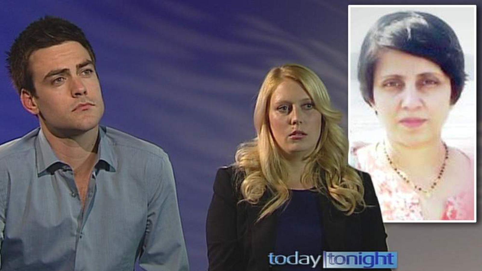 Radio Djs Michael Christian and Mel Greig talk on australian tv show 'today tonight' about the telephone prank they played on now deceased nurse Jacintha Saldahna.