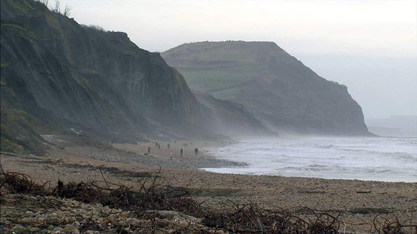 Cliffs on Dorset coast
