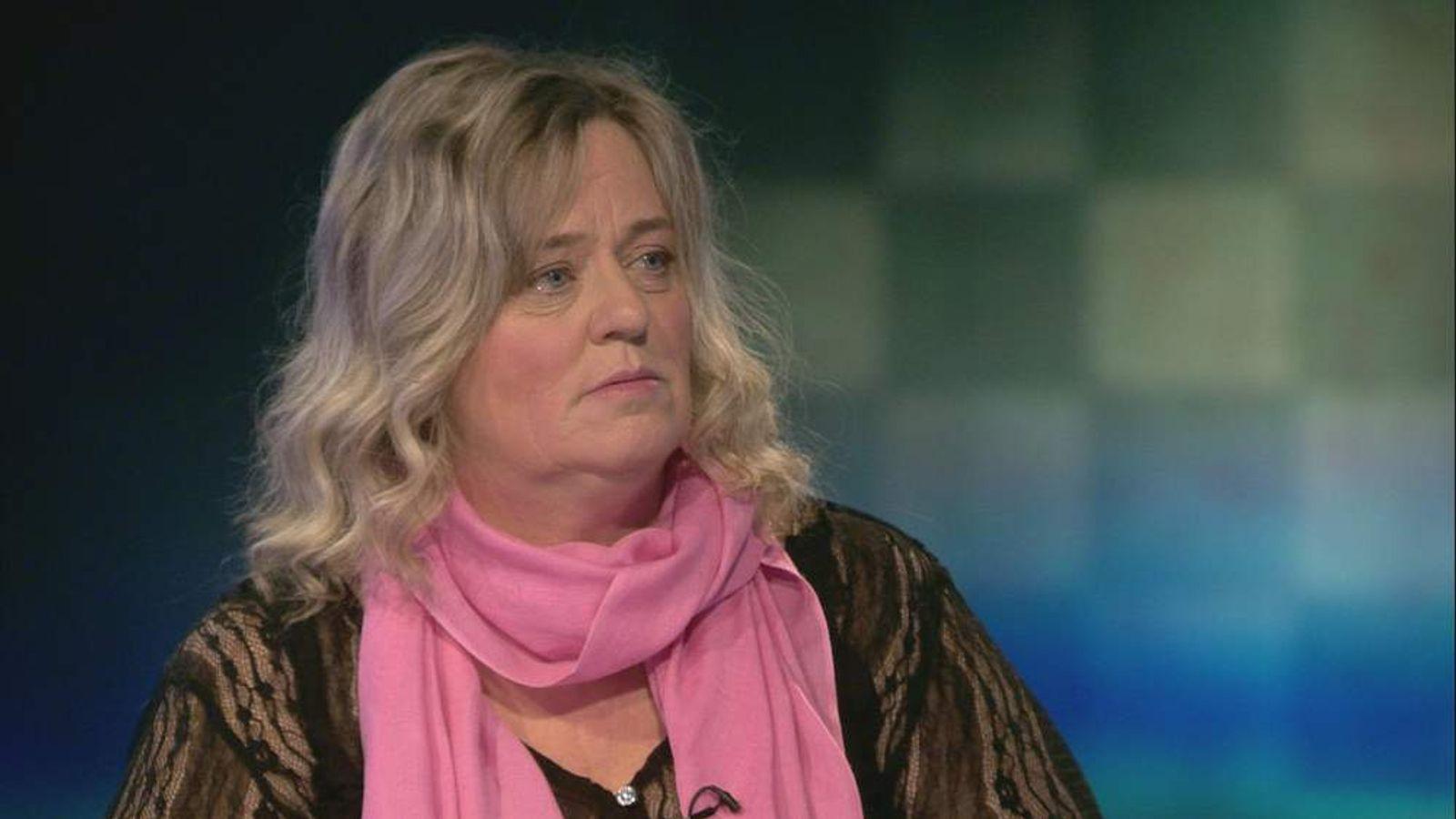 Jimmy Savile abuse victim Sylvia Edwards