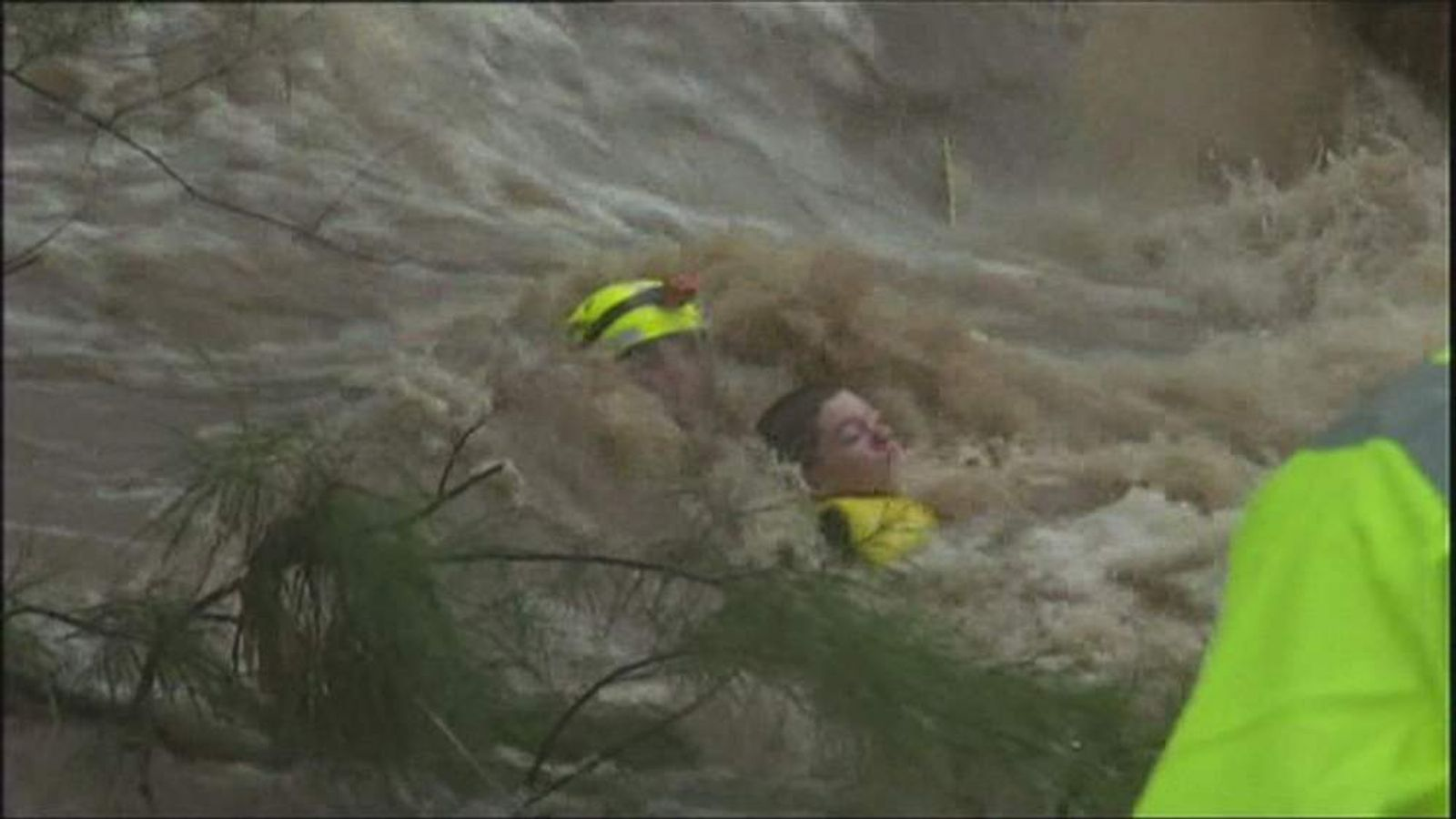 oy, 14, rescued in Australia floods