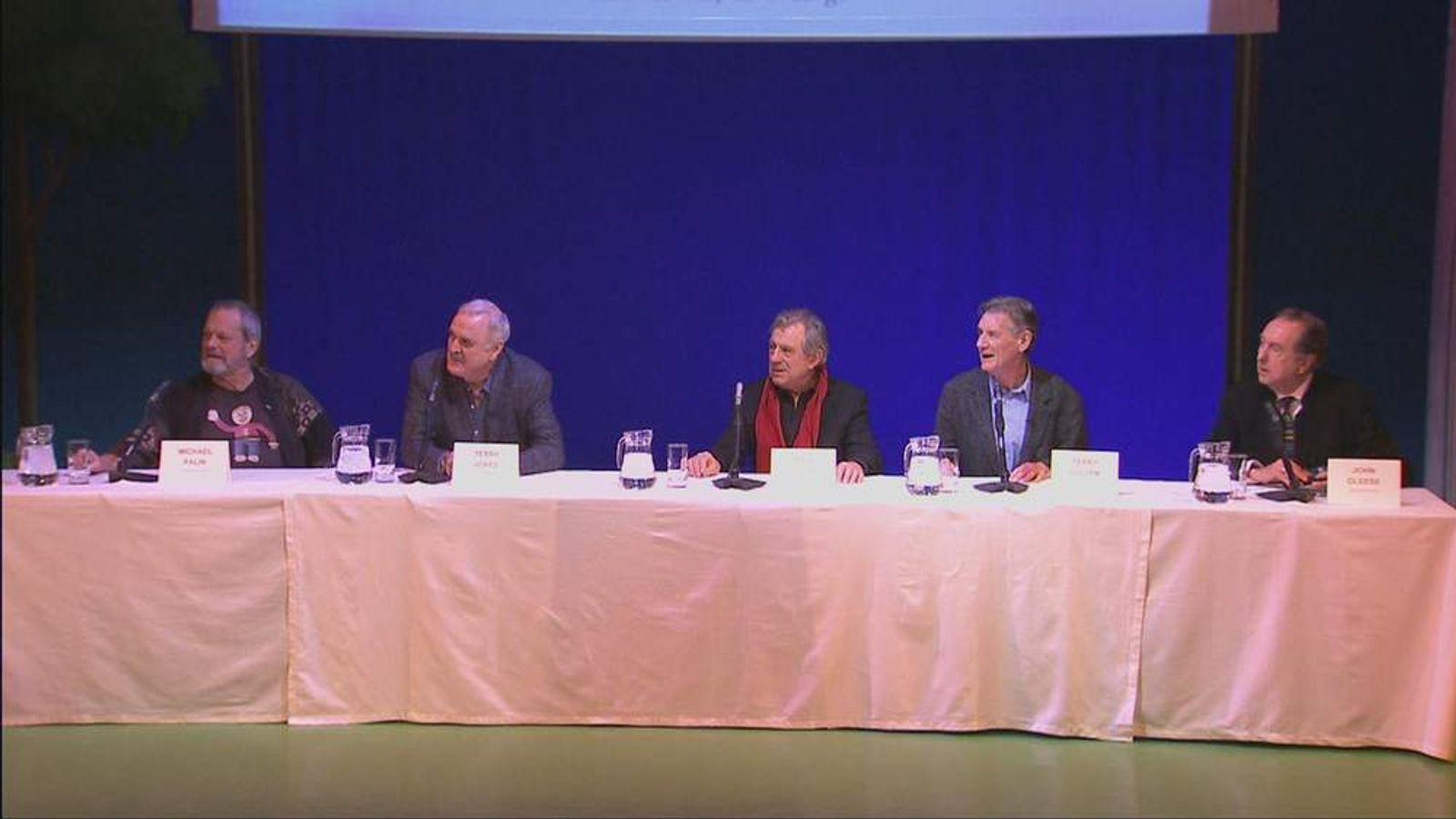 Monty Python reunion press conference