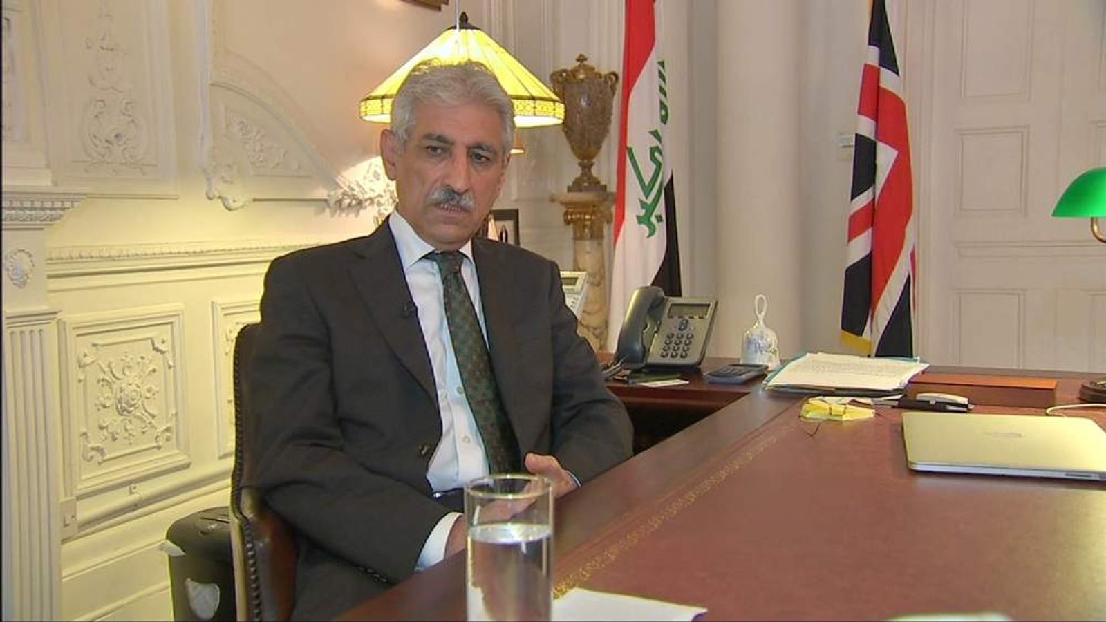Iraqi Ambassador to the UK Faik Nerwayi
