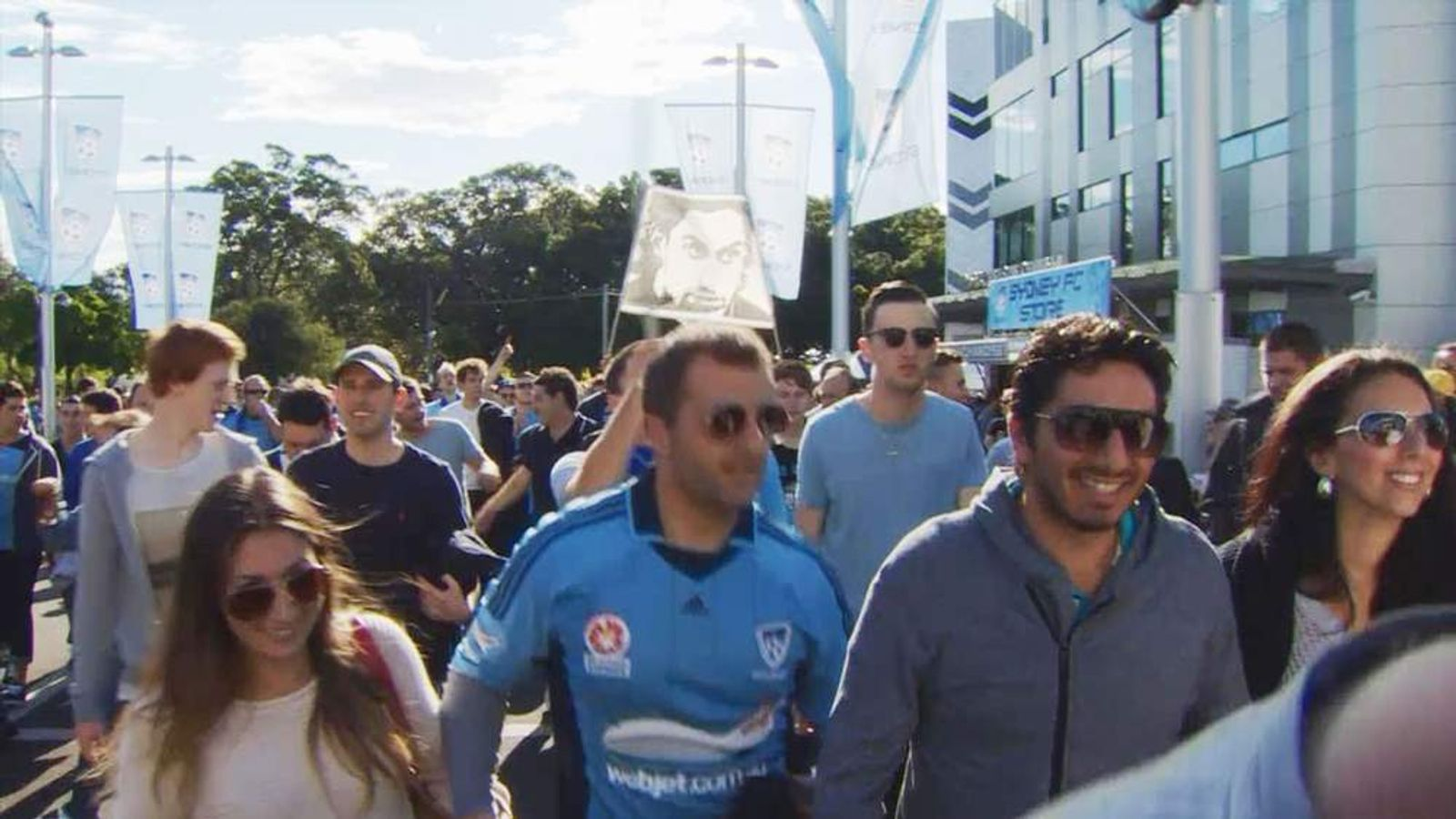 Australian football fans