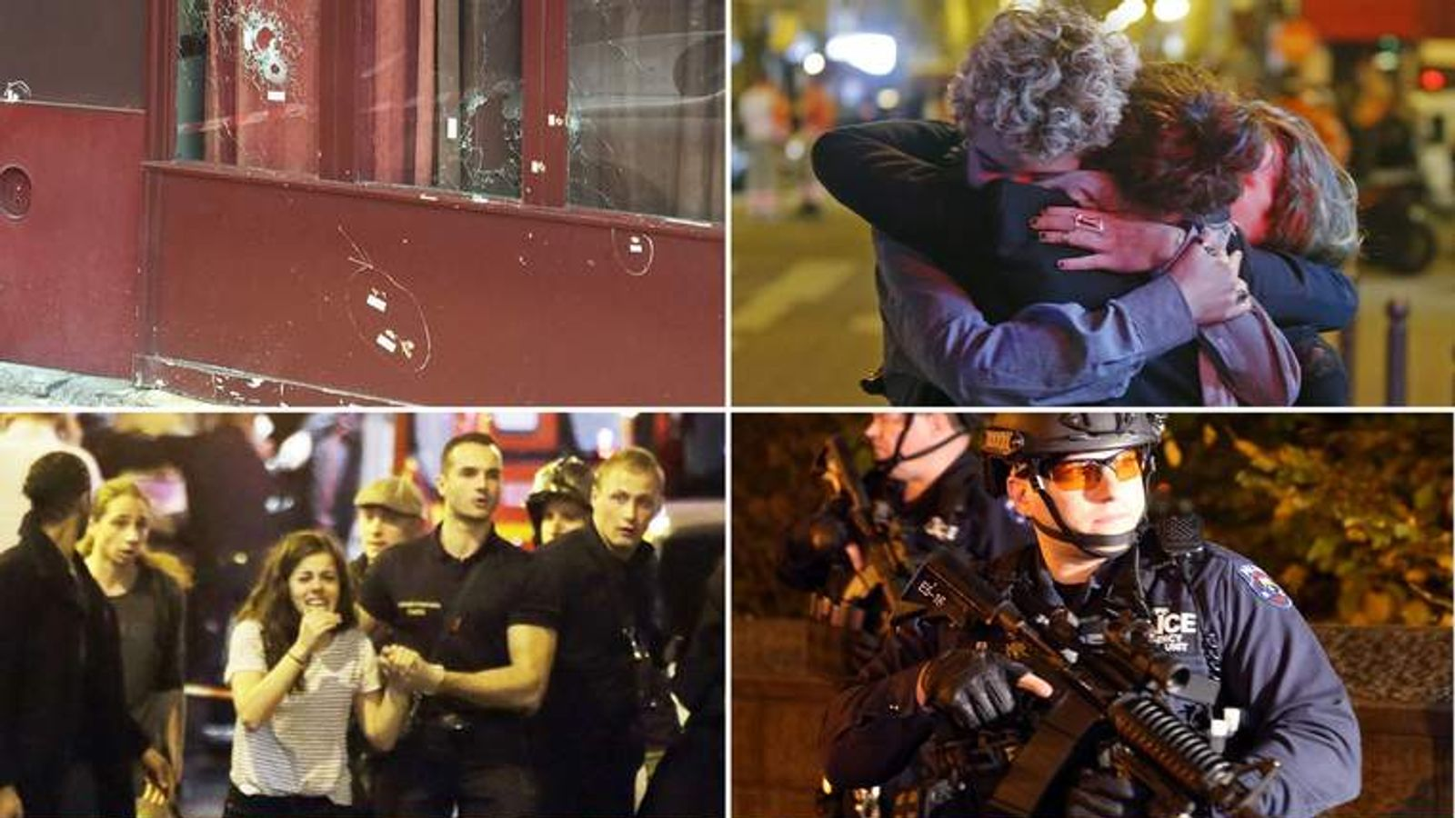 Paris is reeling after a series of attacks left more than 100 dead.