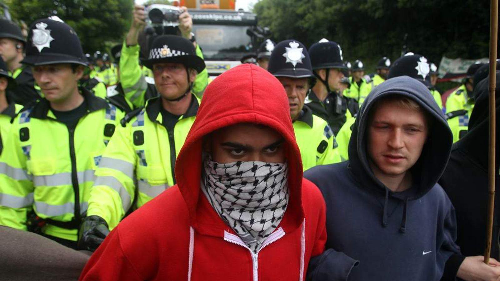 Balcombe anti-fracking protest