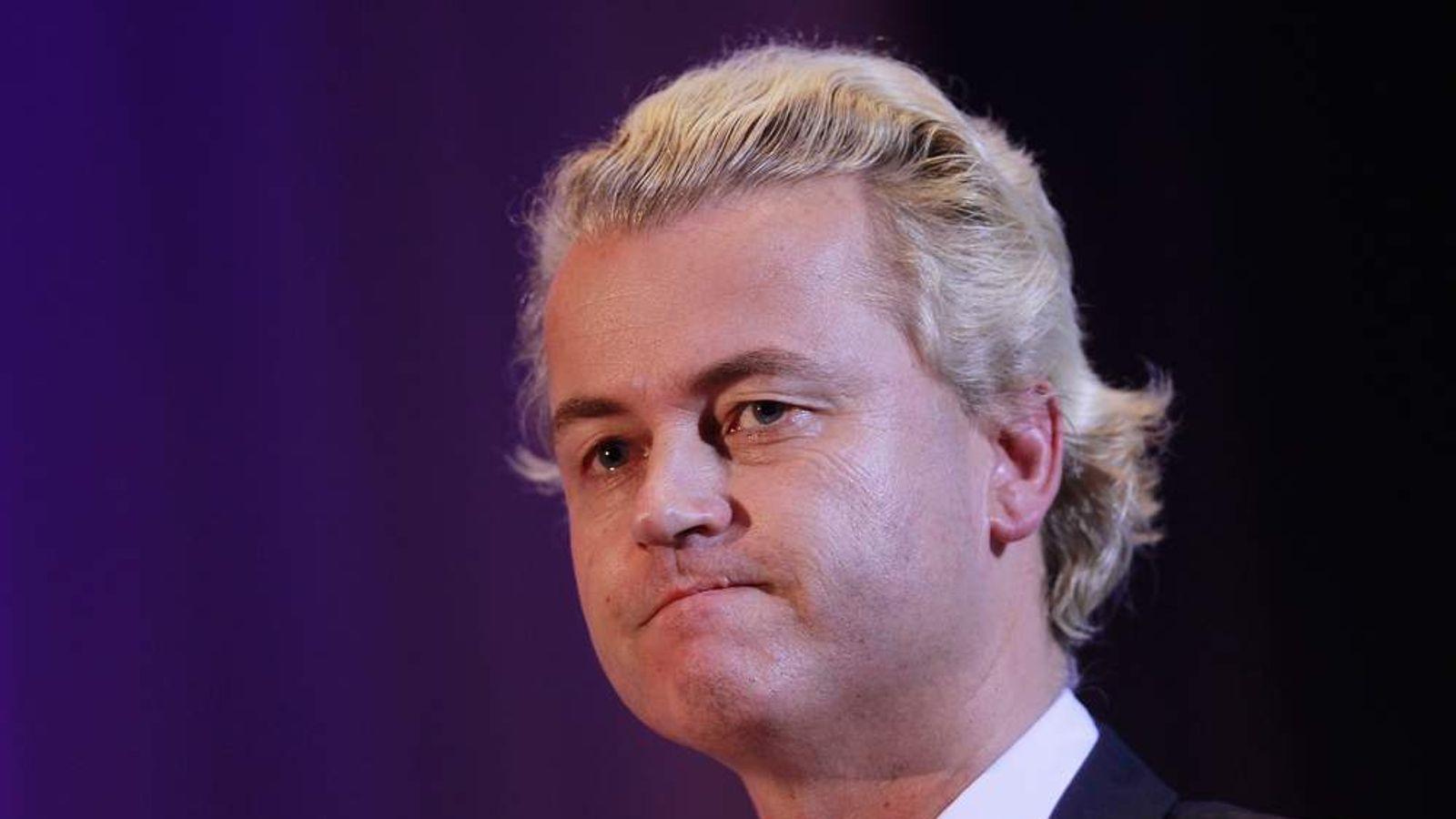 Geert Wilders Speaks In Berlin