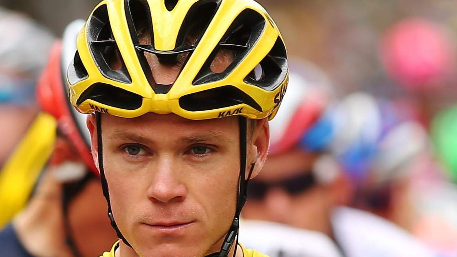 froome spectator threw urine in my face