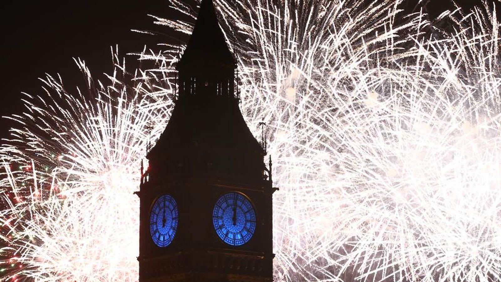 London Celebrates The New Year