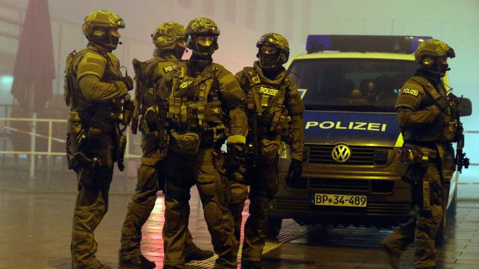 Munich On Alert Following Terror Warning