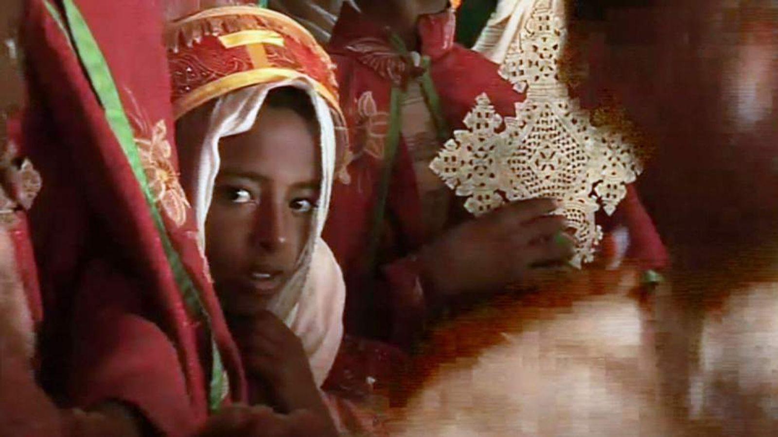 Girl in Ethiopia