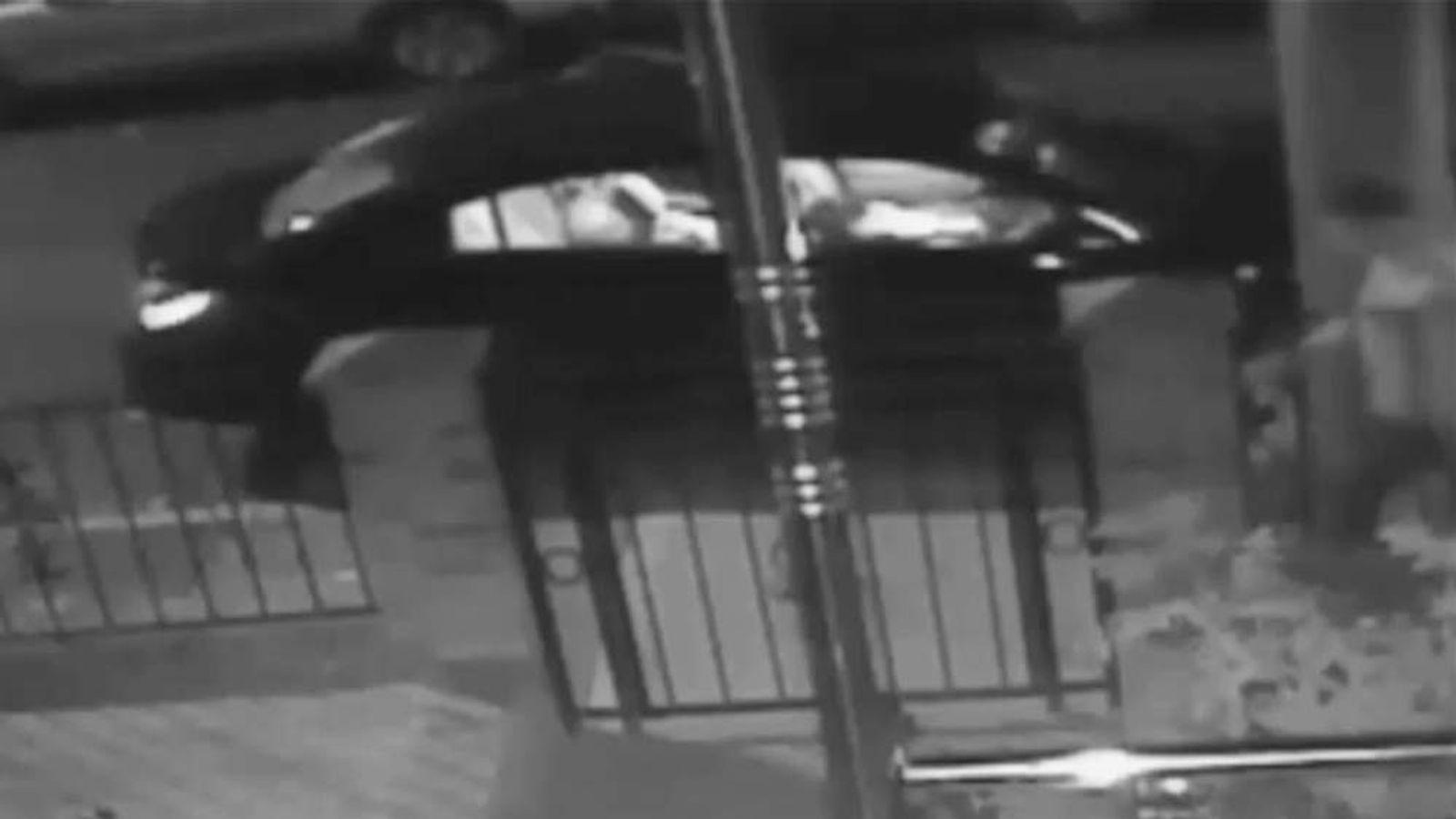 CCTV of fake cabbie's alleged assault