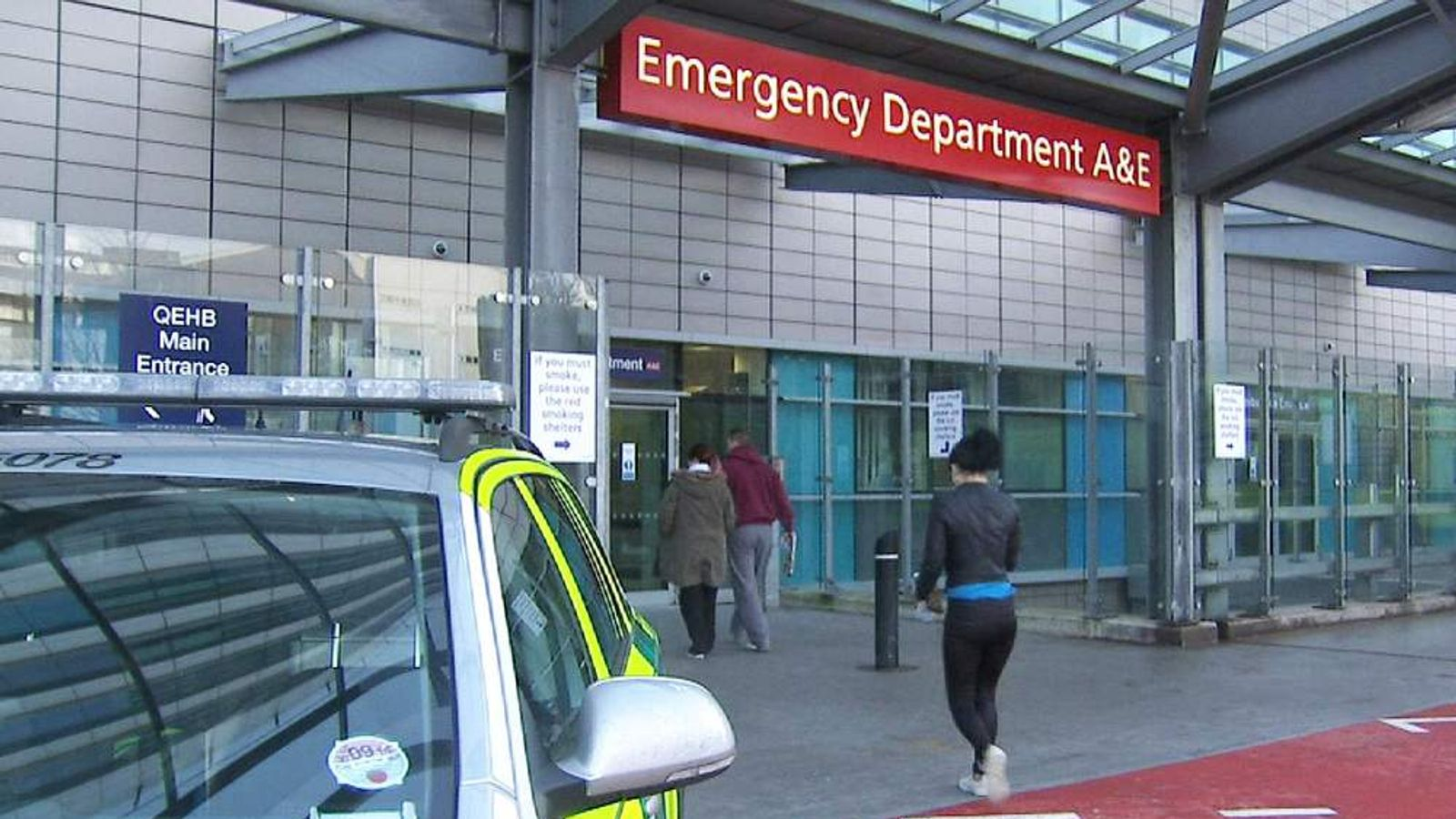 An accident and emergency departmen