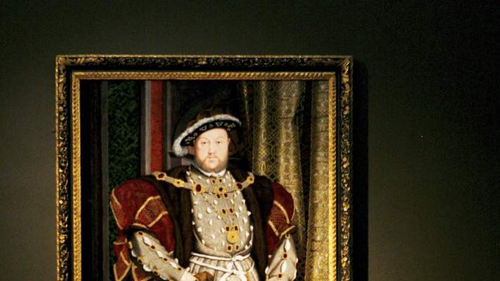 Painting of Henry VIII In Diisplay Of Holbein In England