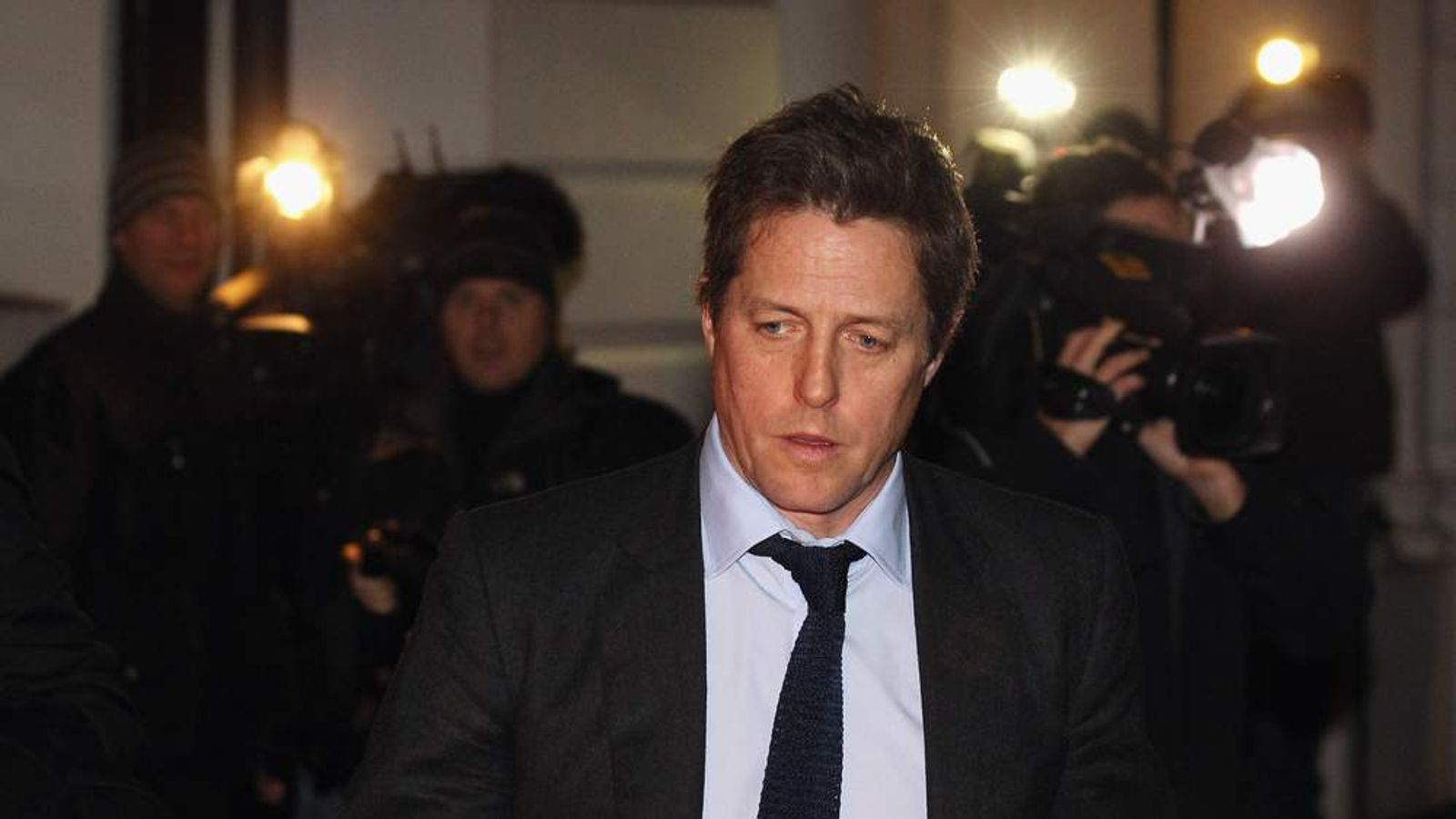 Hugh Grant gave evidence to the Leveson Inquiry in November.