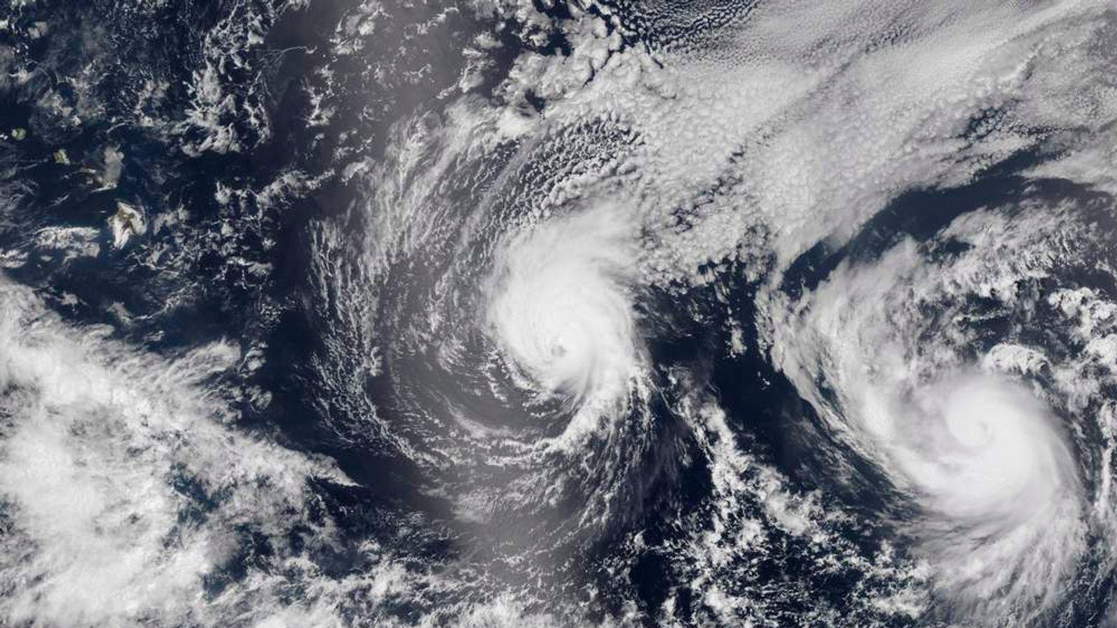 Hurricane Iselle and Hurricane Julio