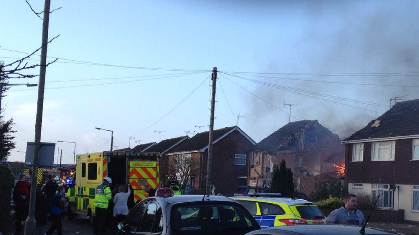 Gas explosion in Clacton