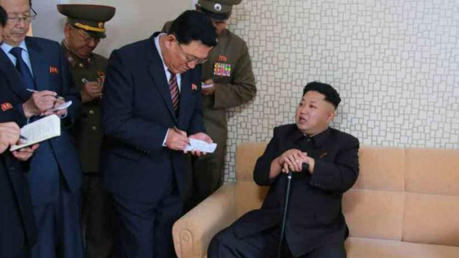 Kim Jong-Un Latest Images In North Korean Newspaper
