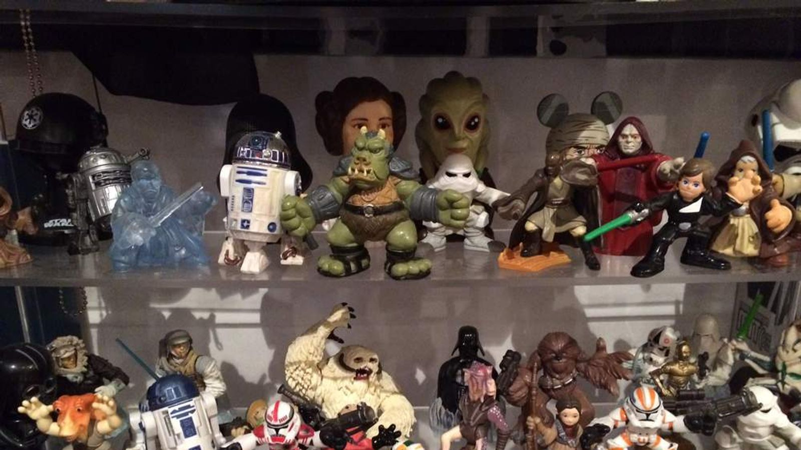 Star Wars memorobilia