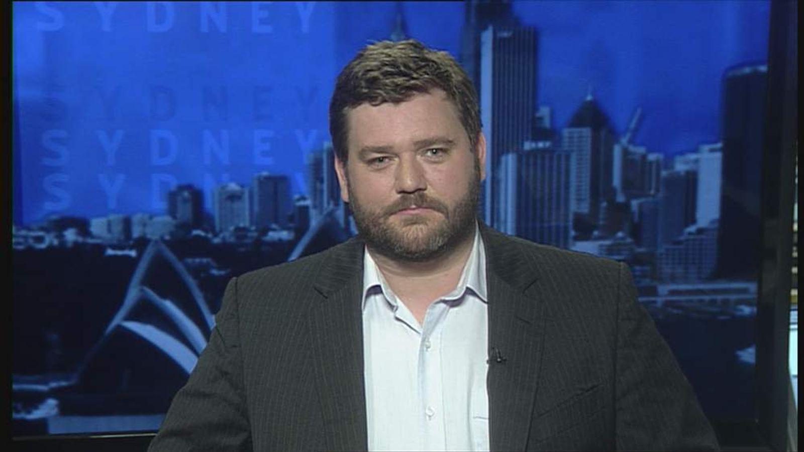 Australian radio host Paul Murray