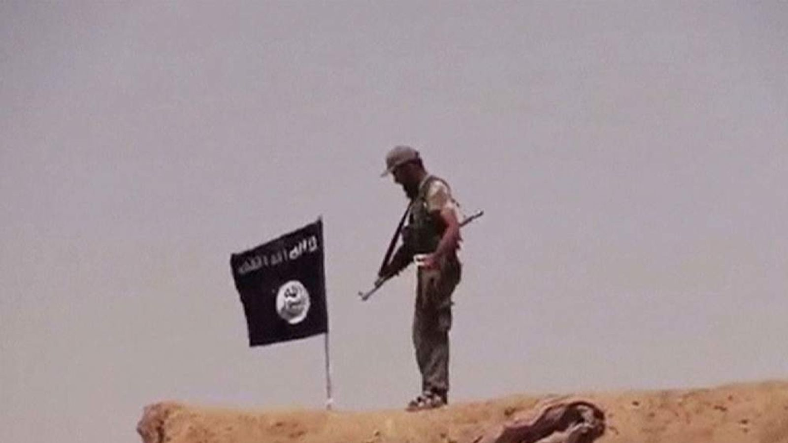 Isis militants declare caliphate