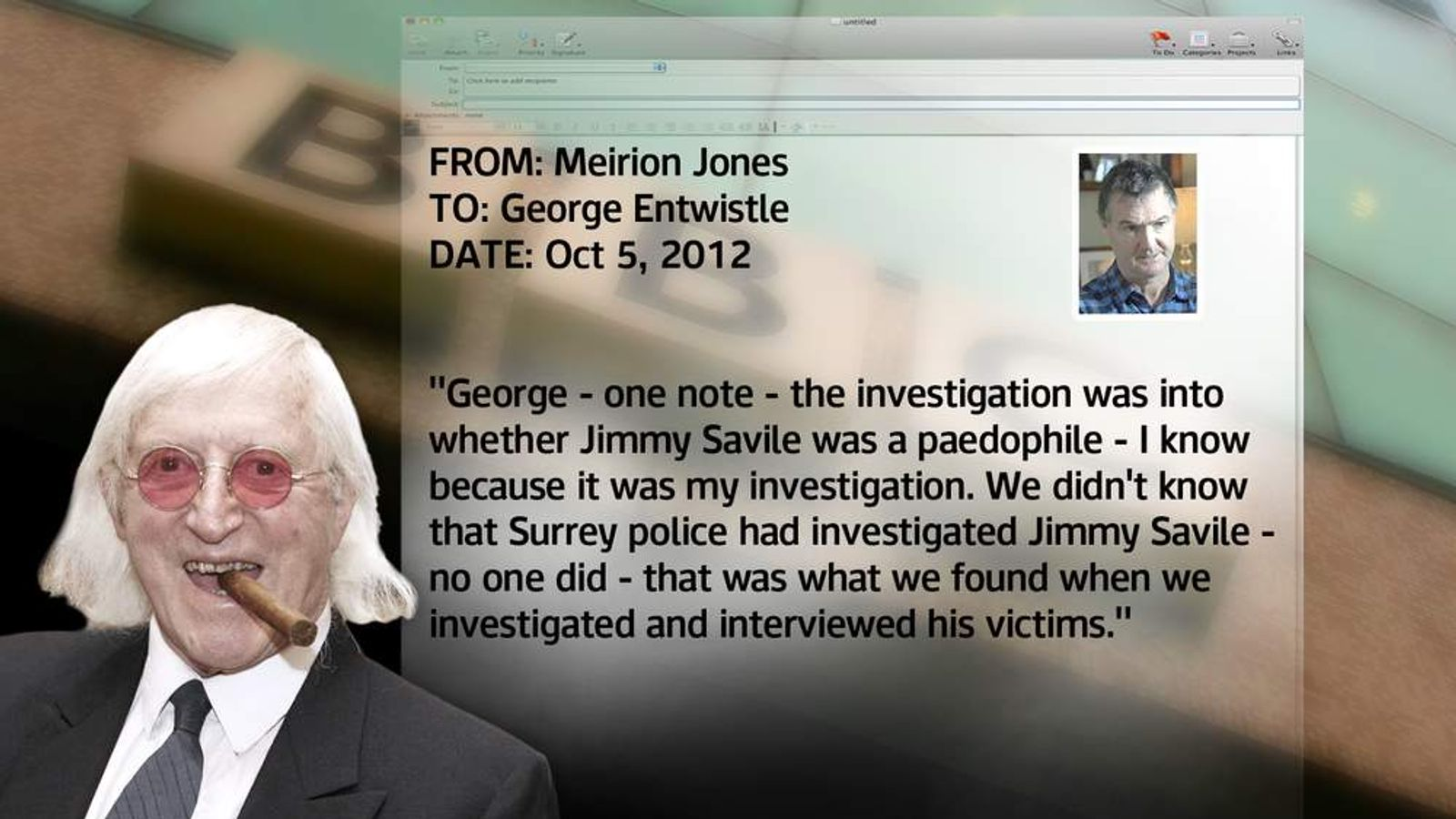 Jimmy Savile email