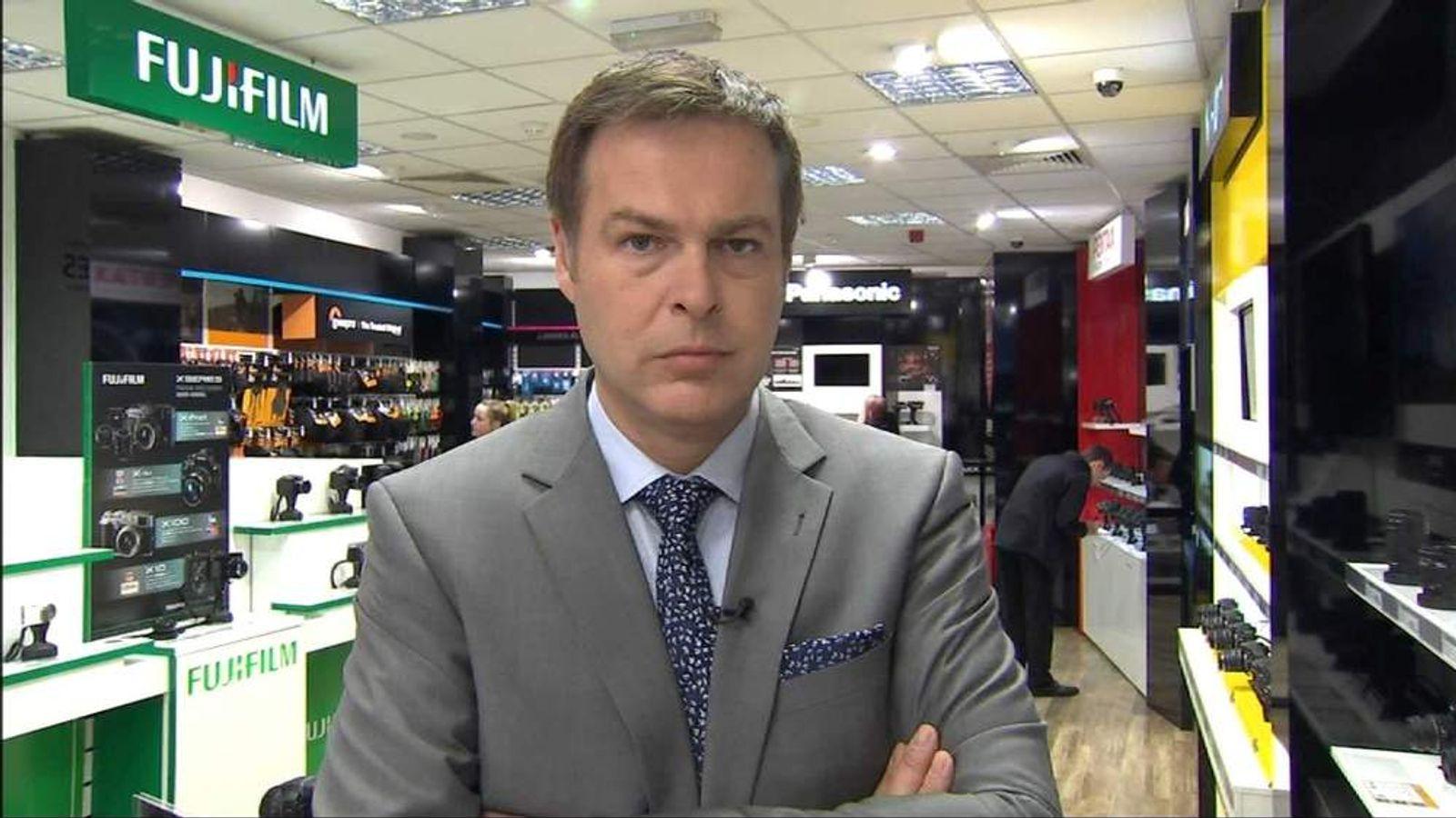 Peter Jones At Jessops