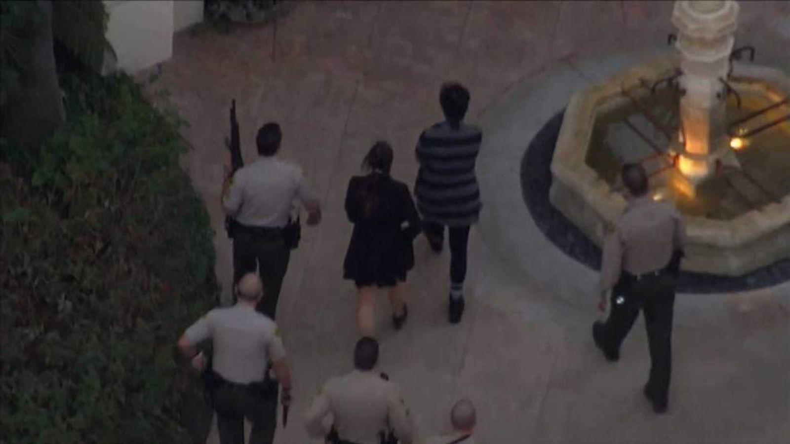 Police at Kardashian house