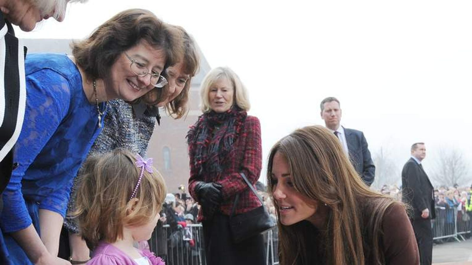 Kate of a Royal visit to Grimsby