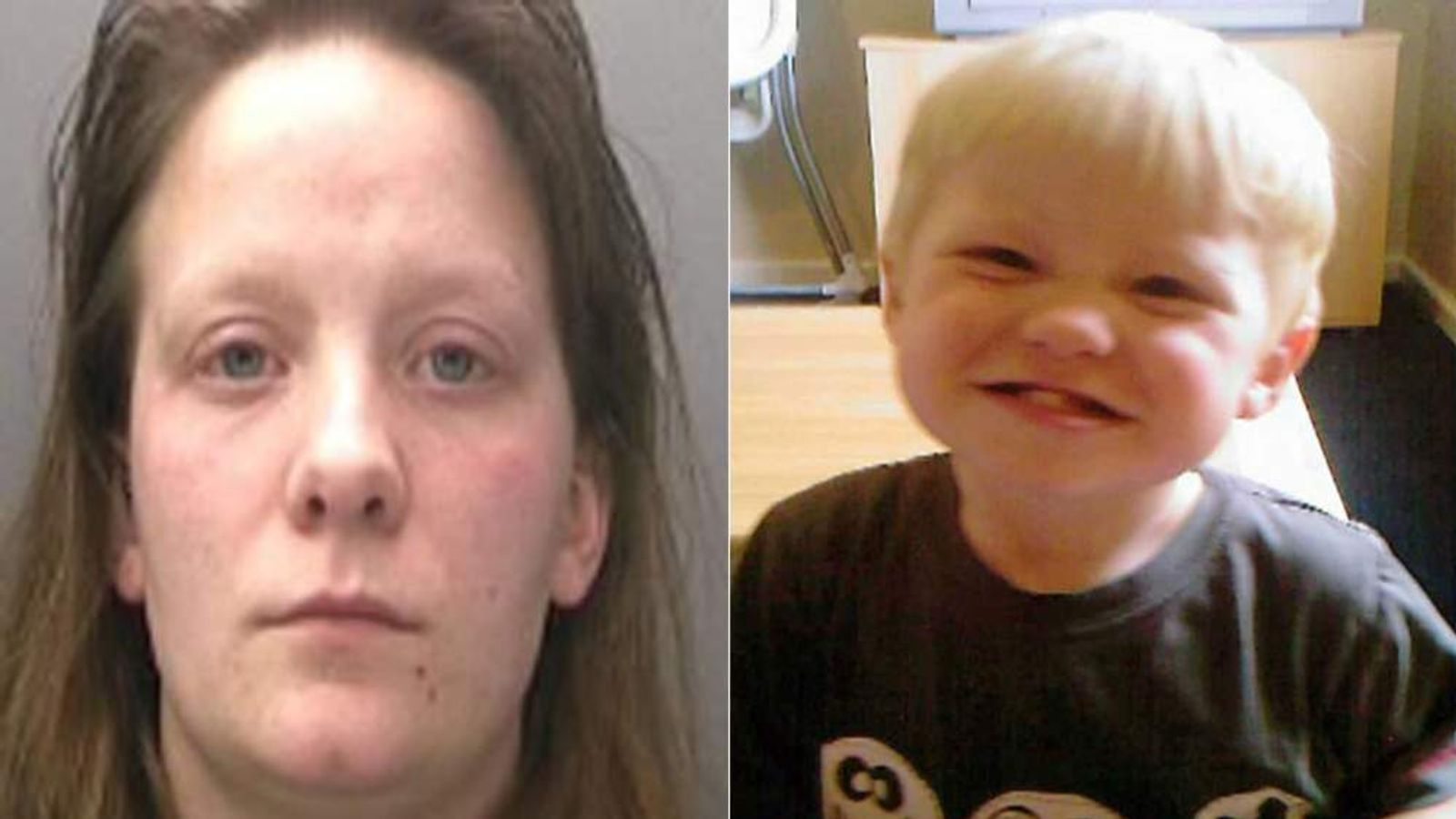 Rebecca Shuttleworth and her son Keanu Williams