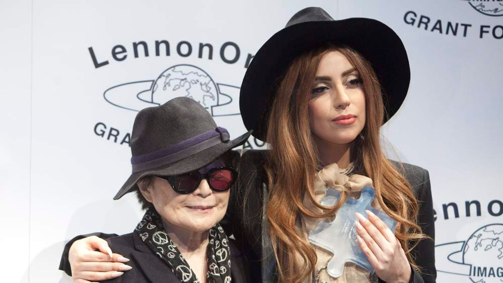 Yoko Ono and Lady Gaga