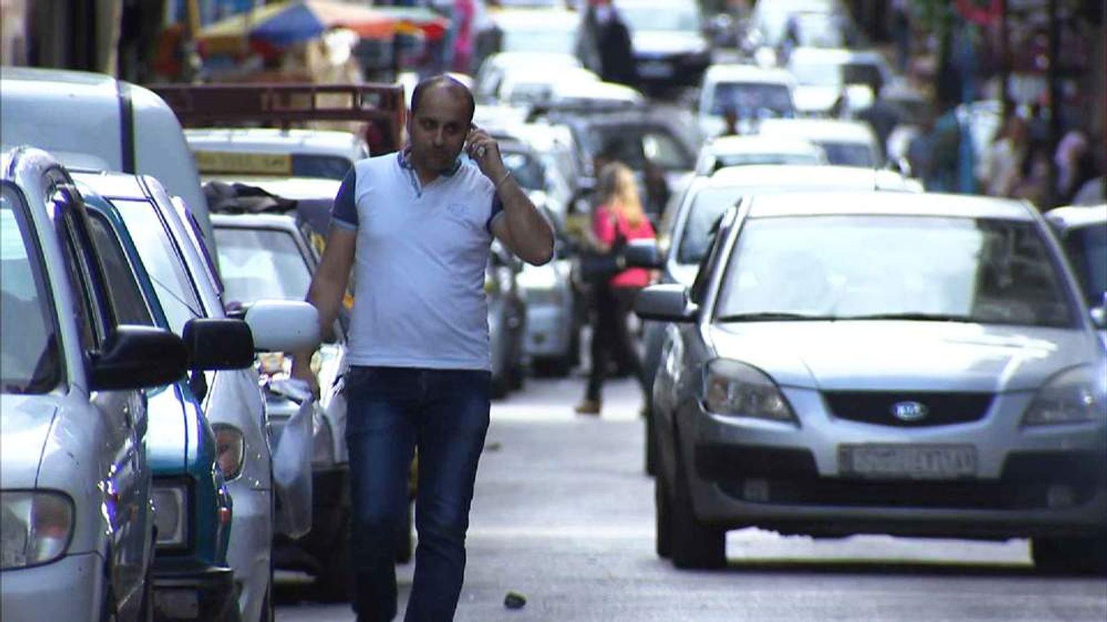 Street scene in Latakia