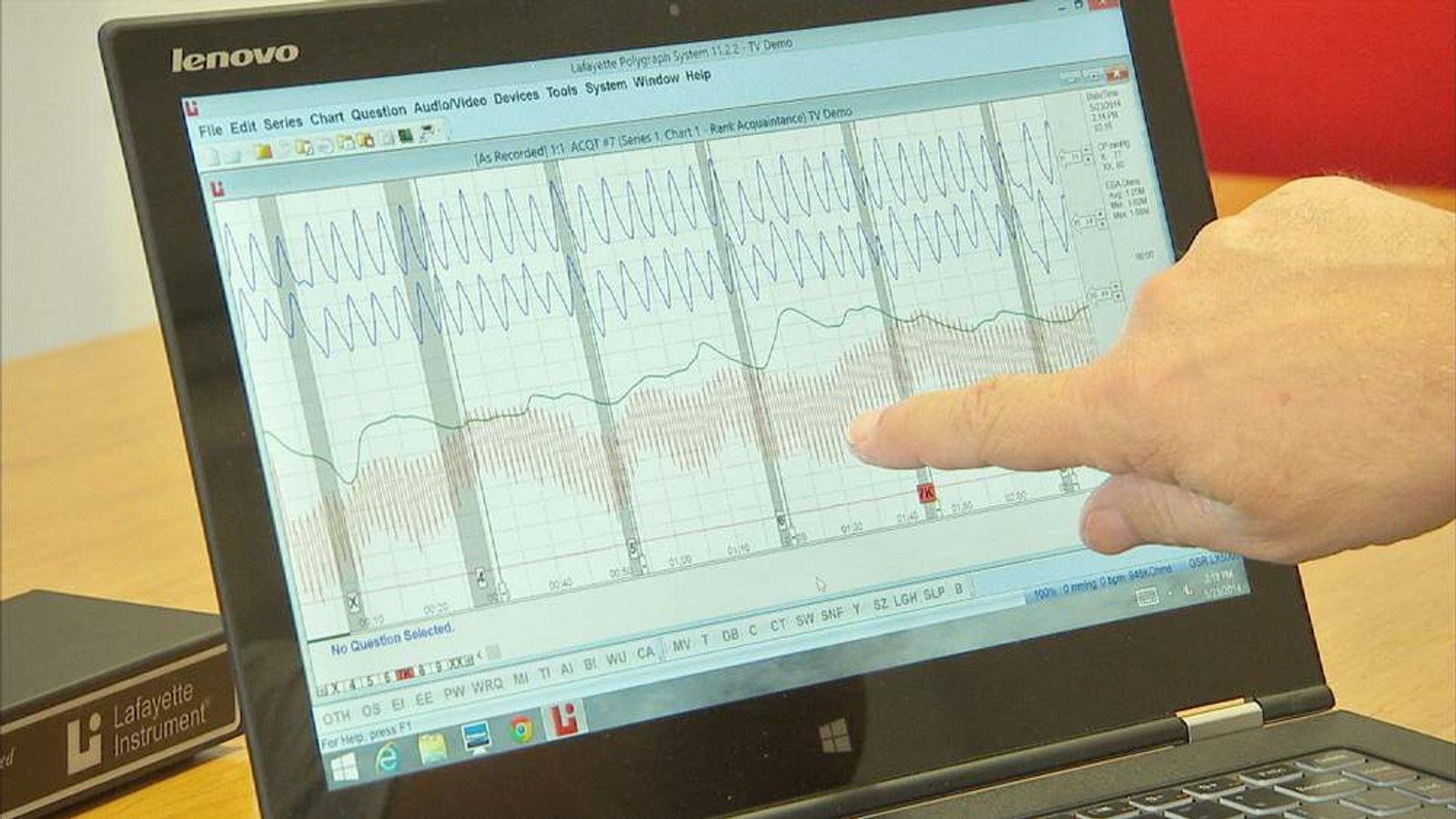 Lie detector data