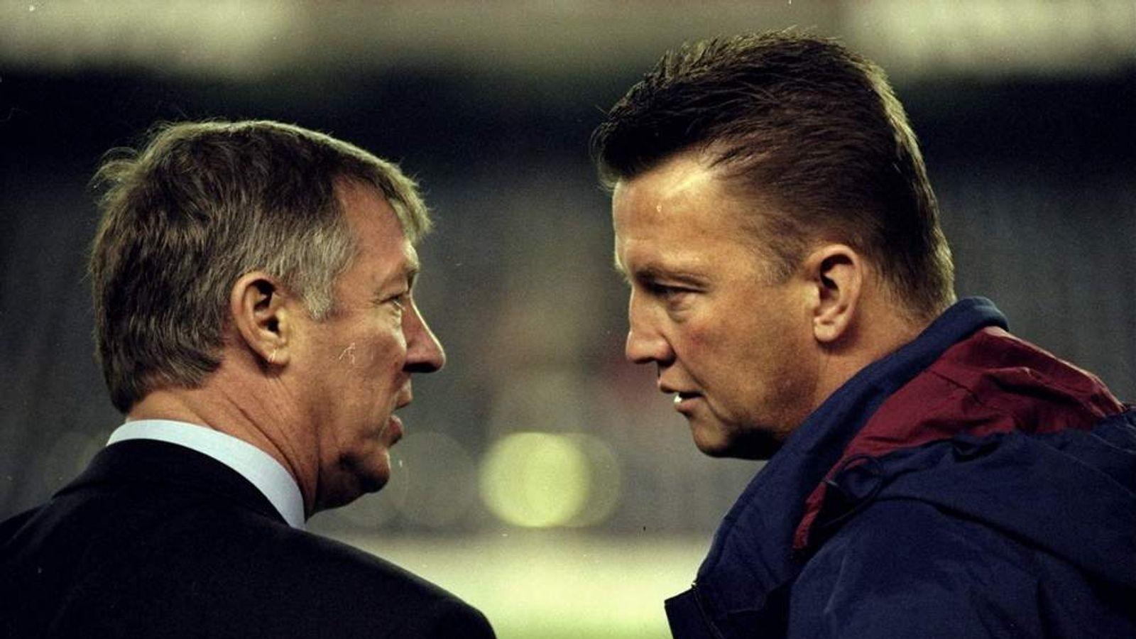 Alex Ferguson and Louis van Gaal