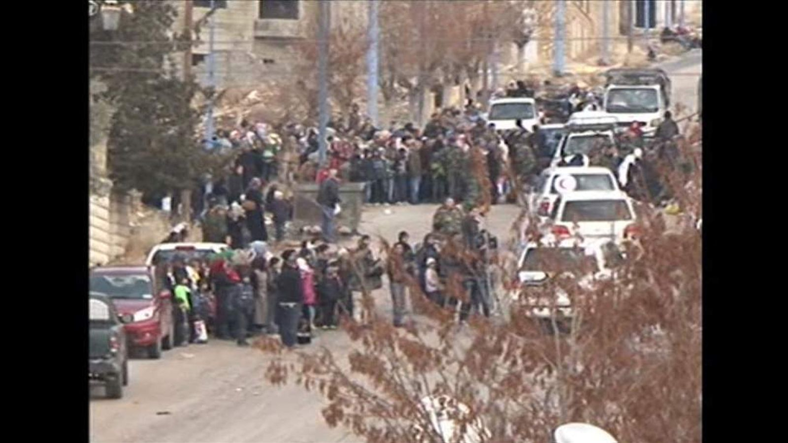 UN aid envoy arrives in Madaya, Syria