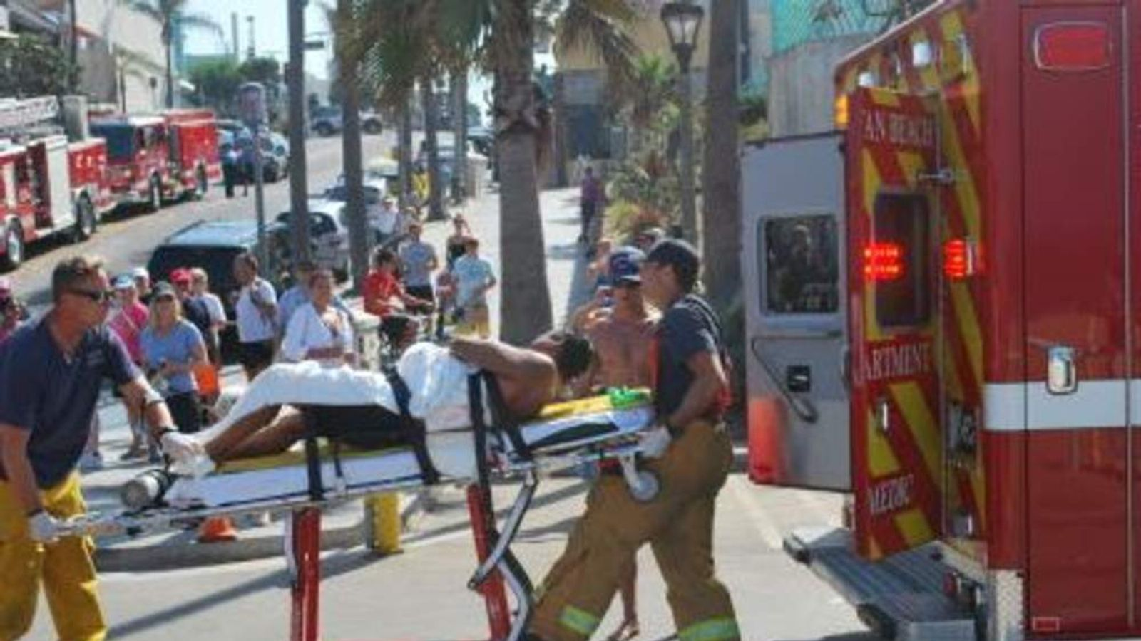 Man attacked by shark in California