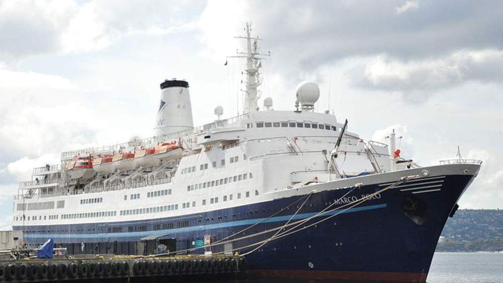 The Marco Polo ship