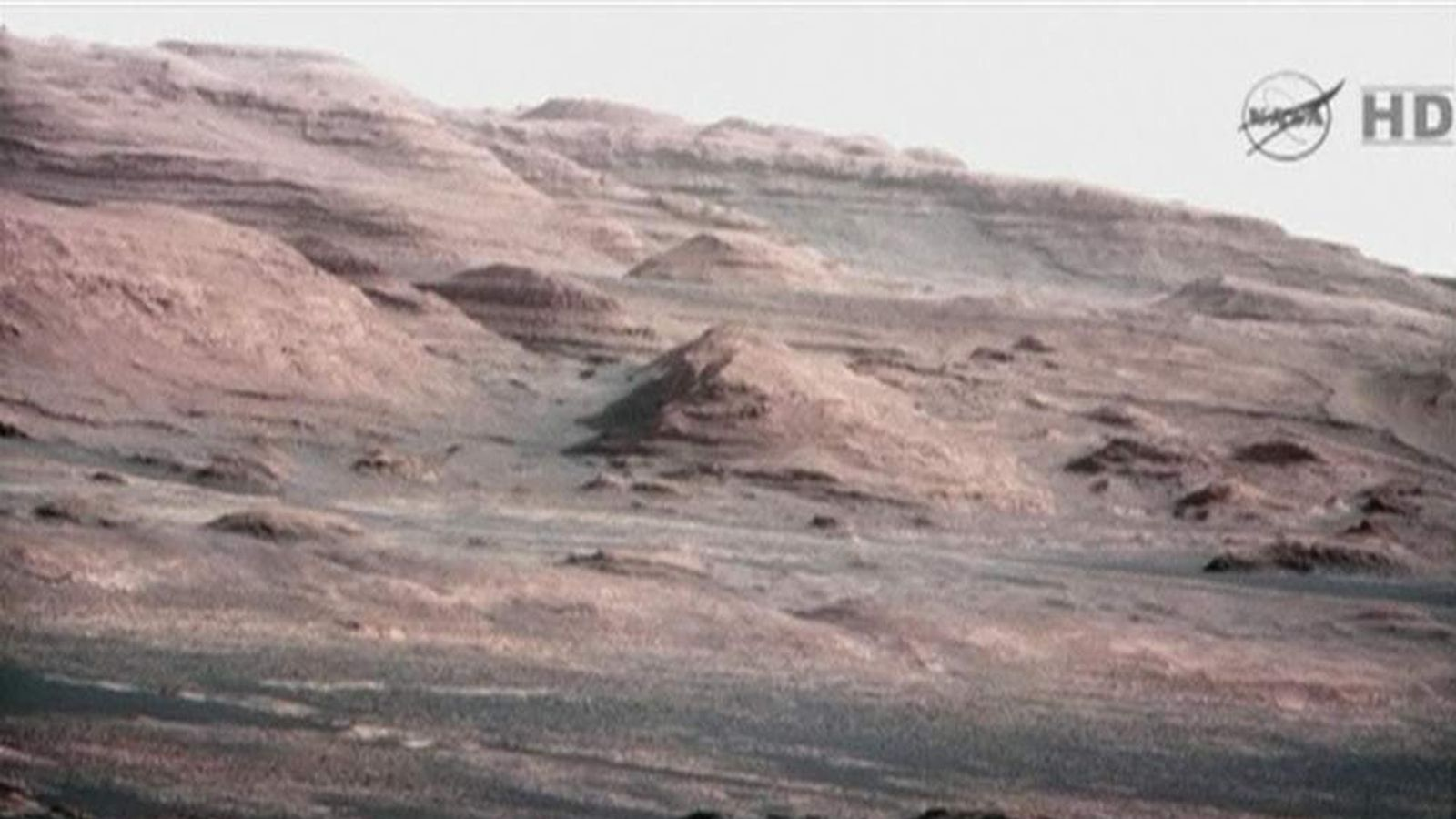 Image Released By Nasa Showing Surface Of Mars By Rover Curiosity