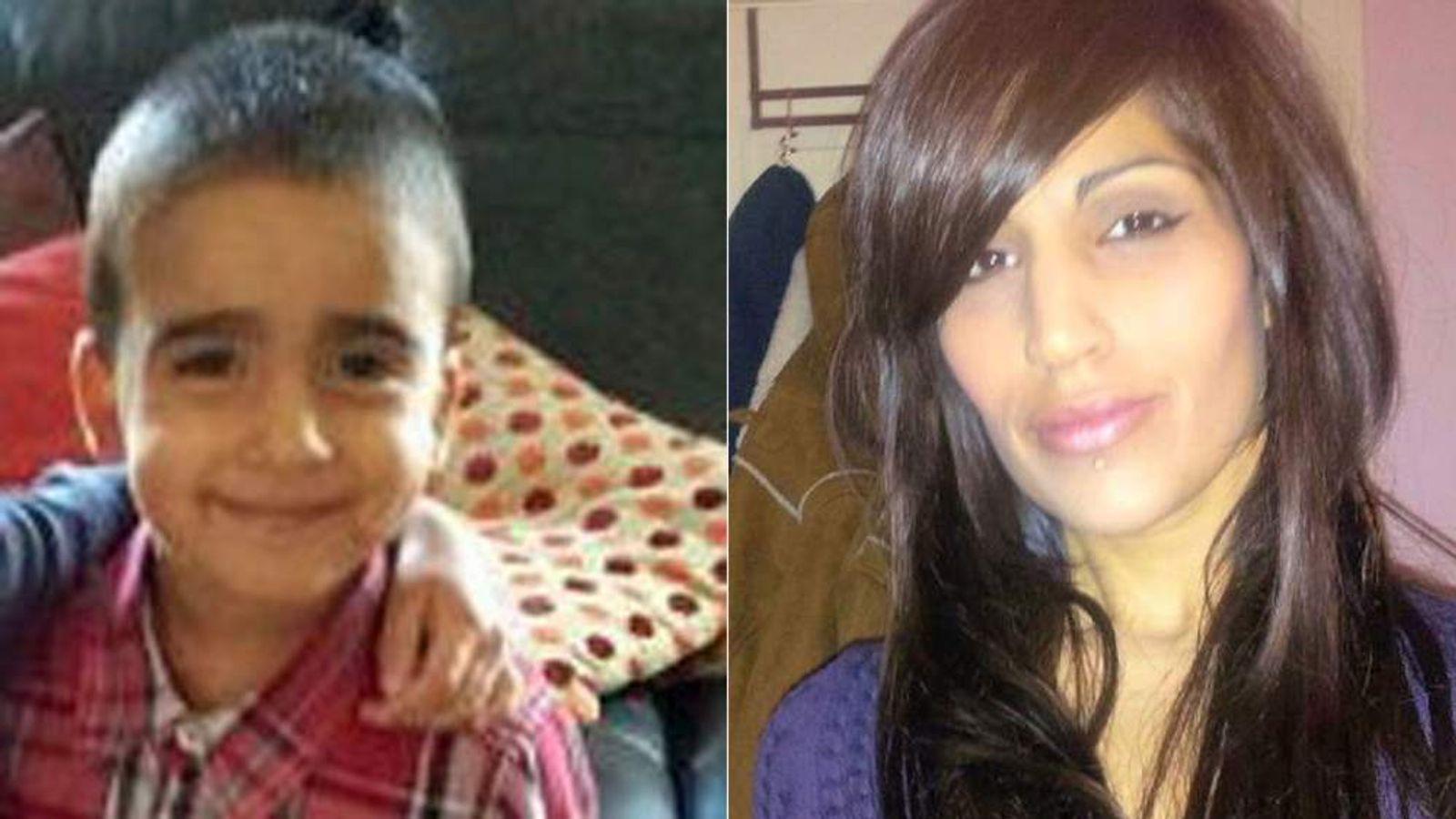 Mikaeel Kular and mum Rosdeep