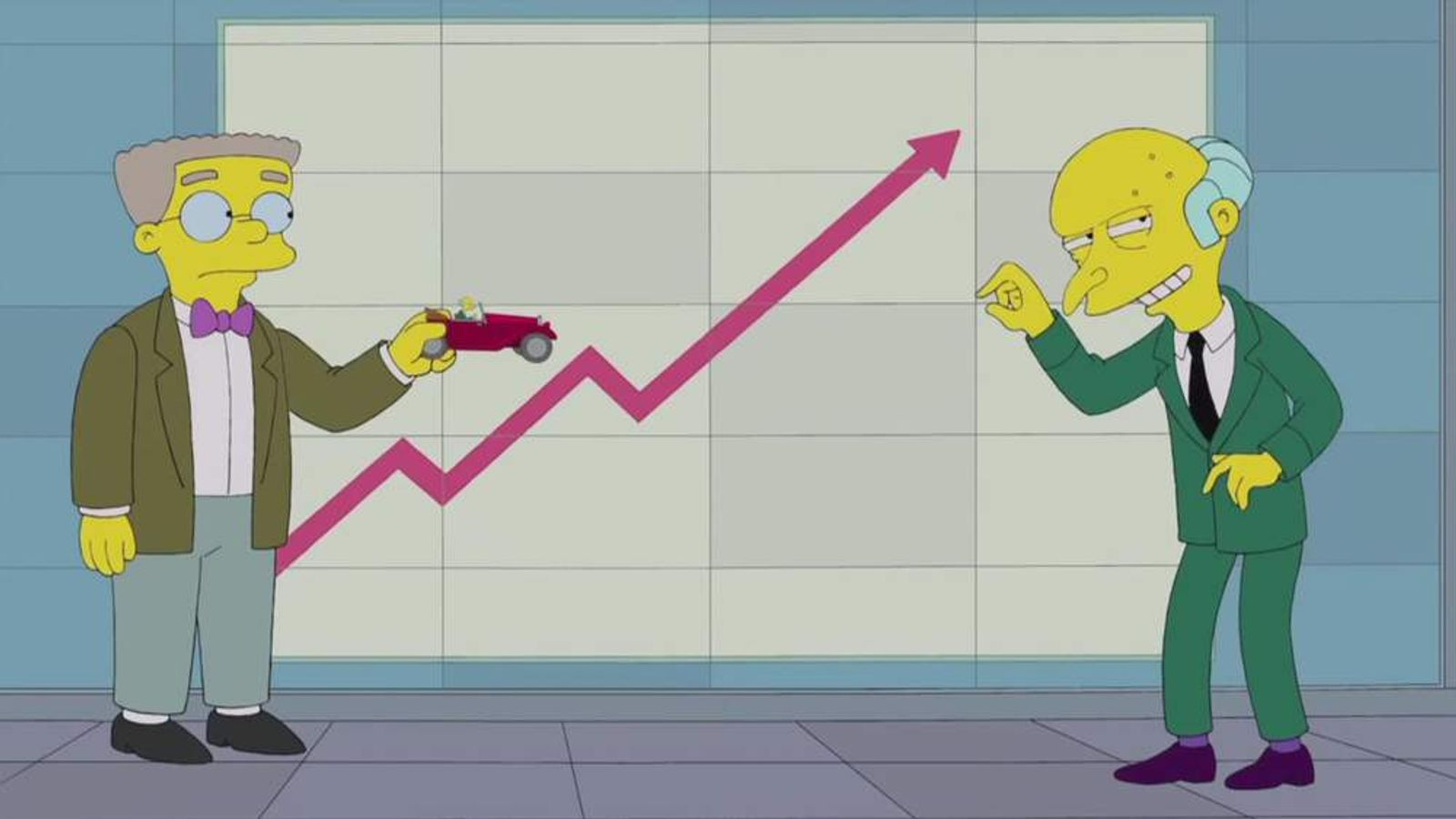The Simpsons Fiscal Cliff Promo