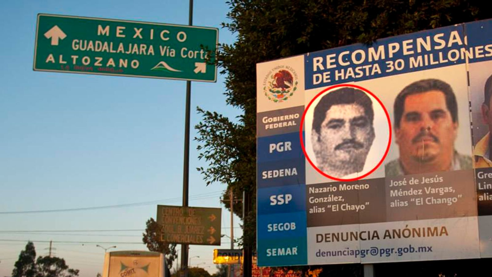 The Michoacan Family Confronts Federal Police
