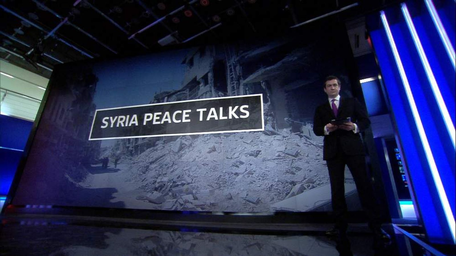Niall Paterson explains the background to the Syria Peace Talks