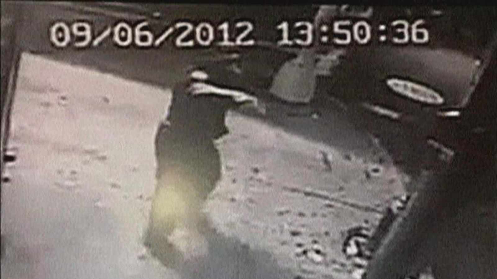 Surveillance video showing NYPD police officer shooting unarmed shop worker