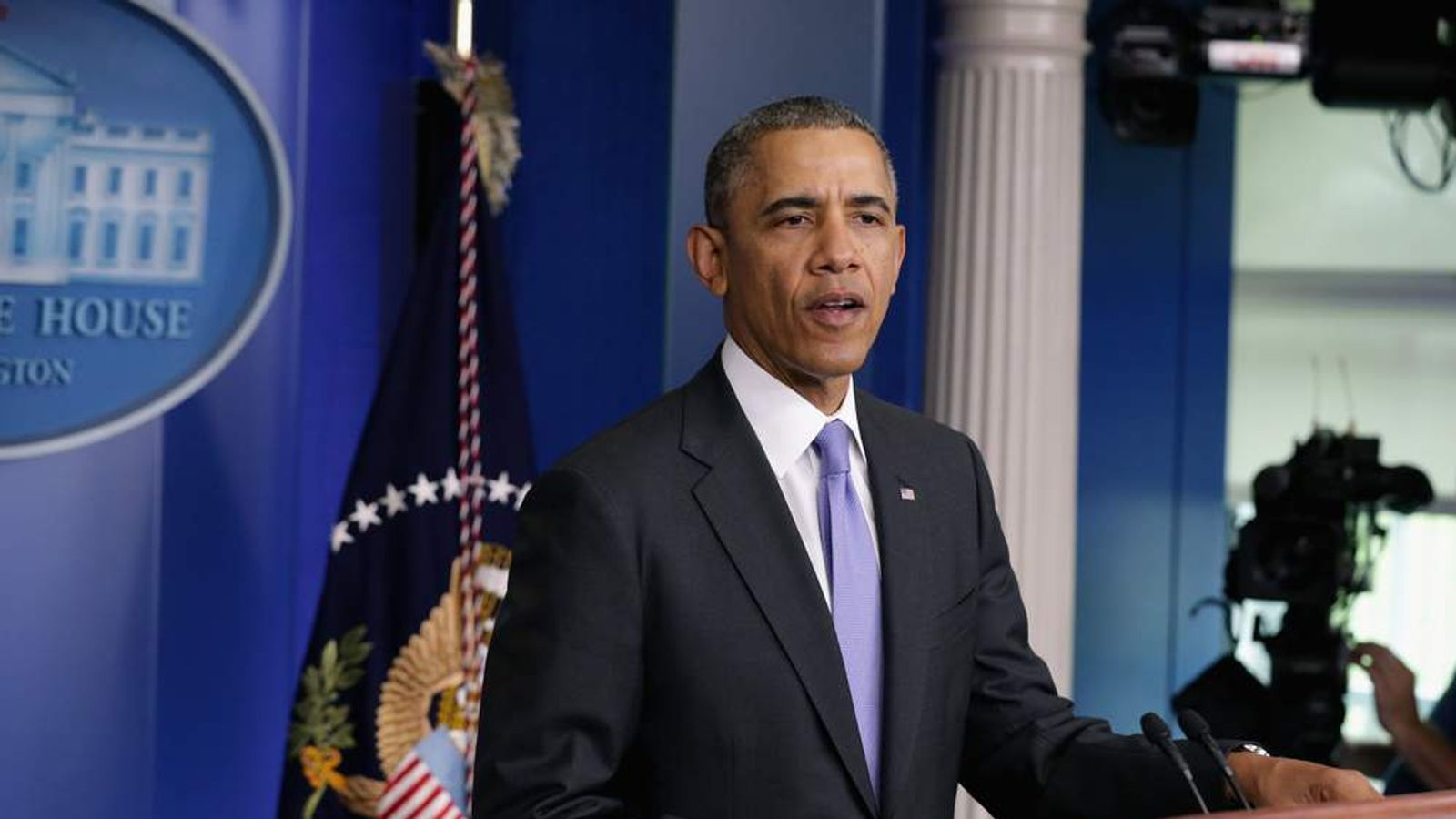 President Obama Delivers Statement On Veterans Affairs Scandal