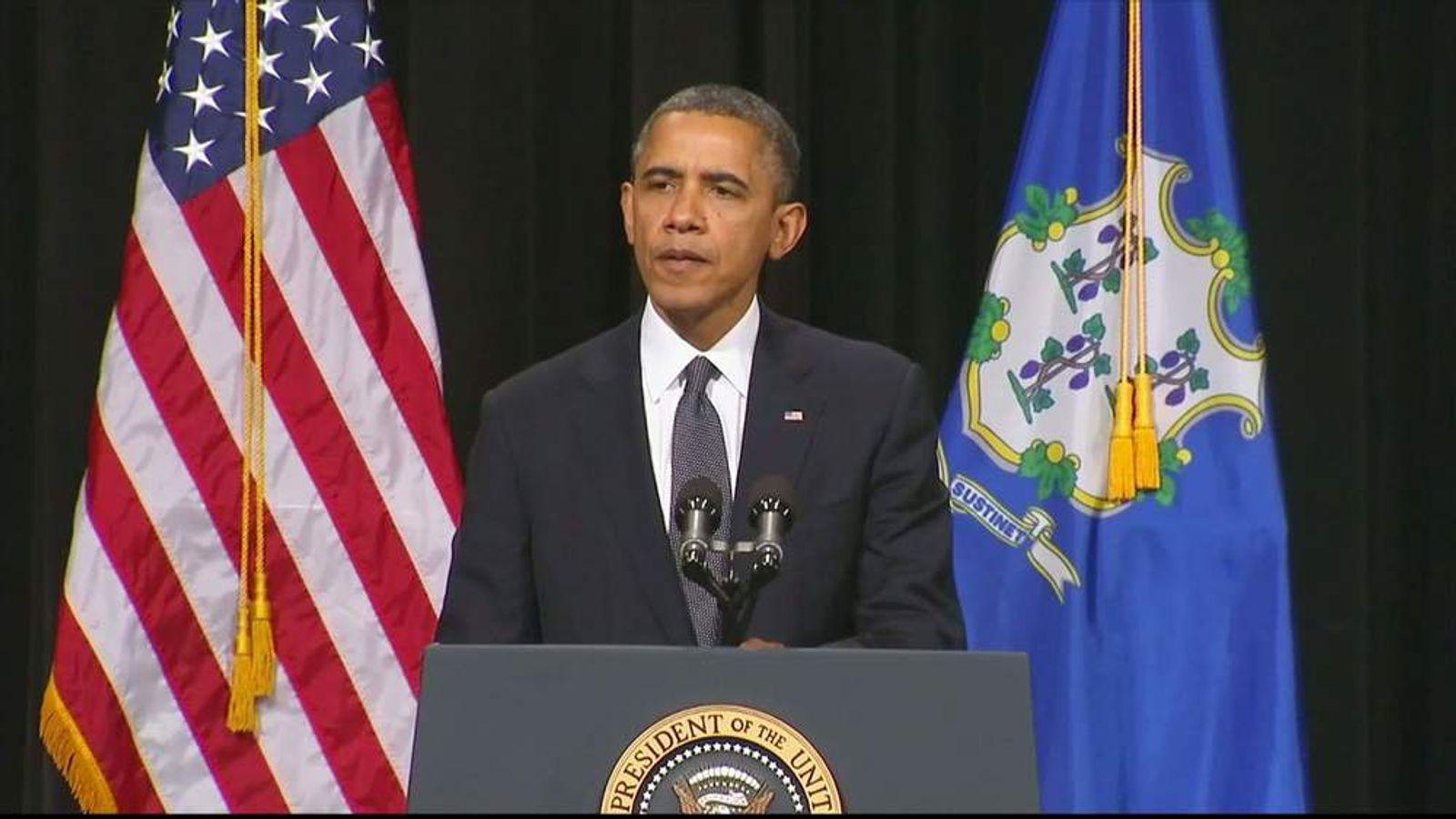 Obama at vigil